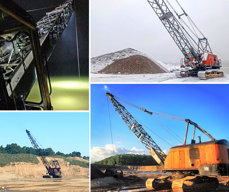 Midwest Long Reach Application Dragline Sand and Gravel Dredging Value Added Service, Add On Service for Sand and Gravel Dredging Projects, Private, Public and Governmental | Michigan Sand and Gravel, Wisconsin, Sand and Gravel, Lower Michigan | Upper Peninsula Dragline Sand and Gravel Services